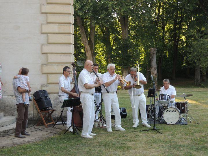 Orchestre jazz pour fête
