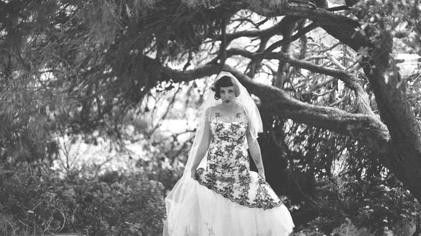 Trash the dress Jessica