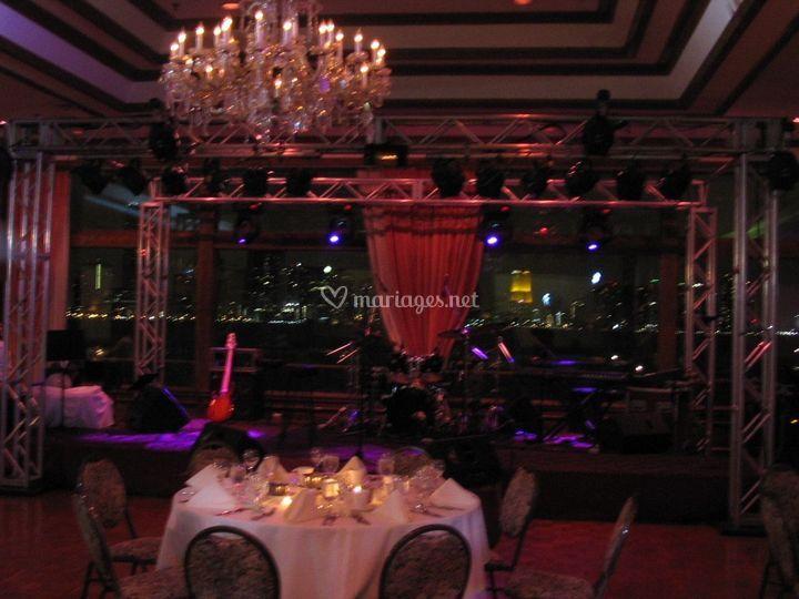 Cérémonie orchestre à Miami