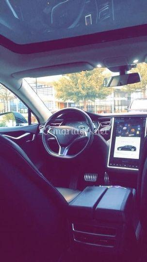 Intérieur Tesla Model S
