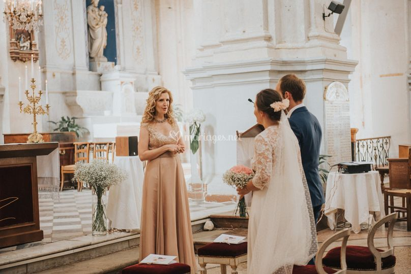 Chanteuse messe mariage