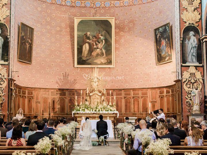 Messe église de Gordes