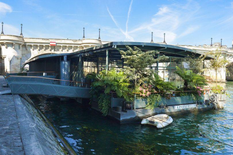 Vue des Jardins du Pont Neuf