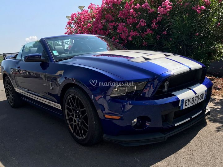 Mustang Shelby GT500 cabriolet