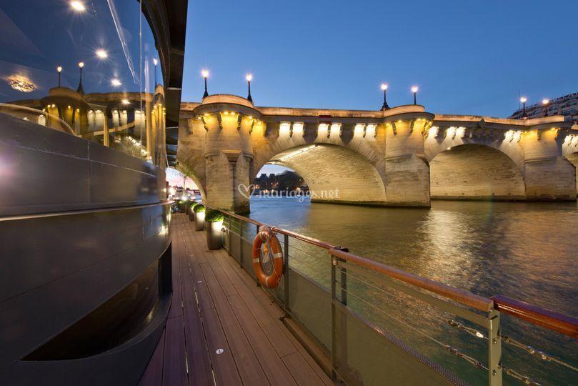 Vue sur le Pont Neuf