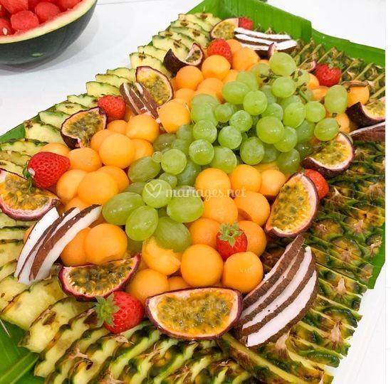 Le panier de fruit