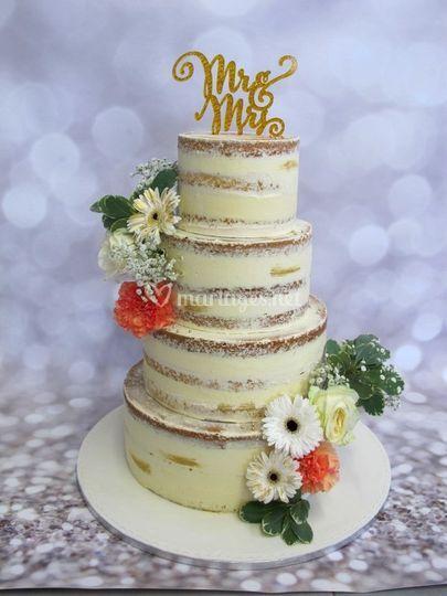 Nuce Cake sans pâte à sucre