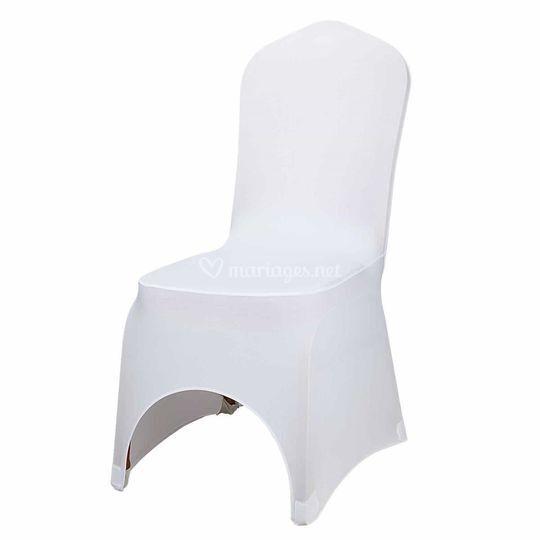 Housse de chaise lycra