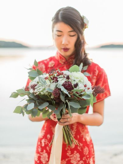 Mariée asiatique chinoise