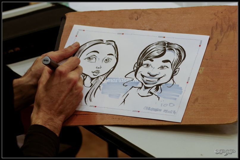 Animation caricature