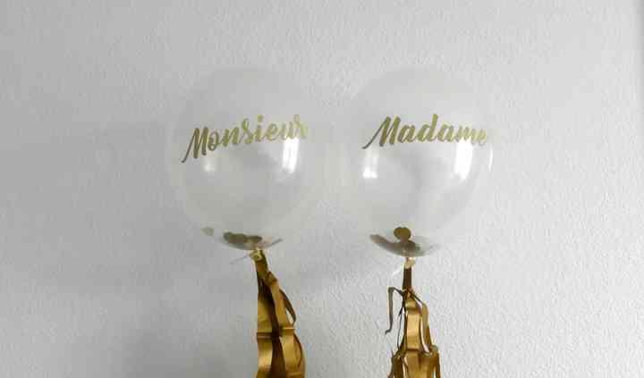 Ballons mariés