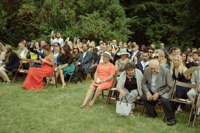 Mariage civil champêtre
