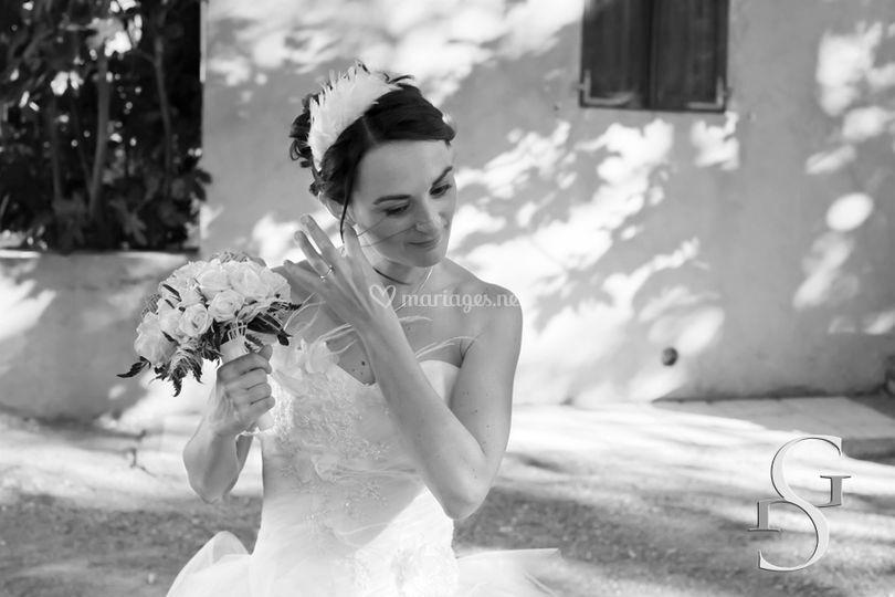 Gracieuse mariée