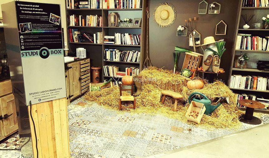 Borne studiobox