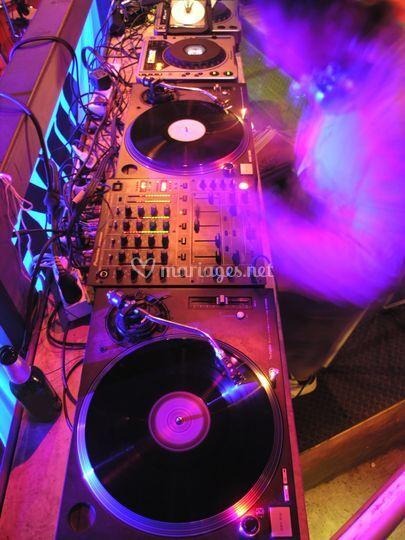 DJ'ing