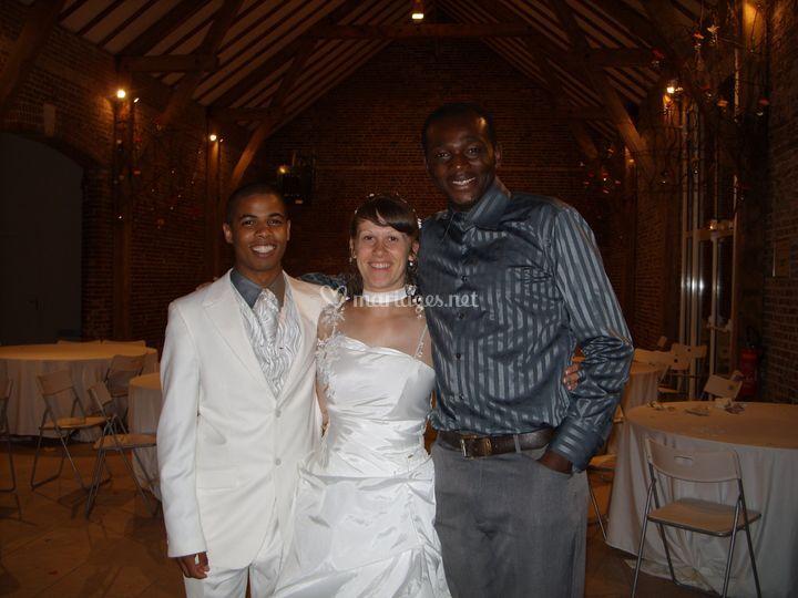 Avec Daniel et Gabrielle