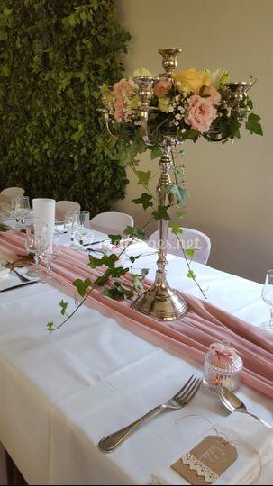 Mariage A&J - chandelier