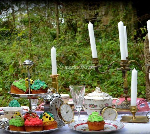 Cupcakes pour shooting