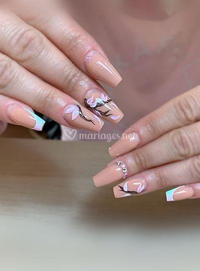Full cover & nail art