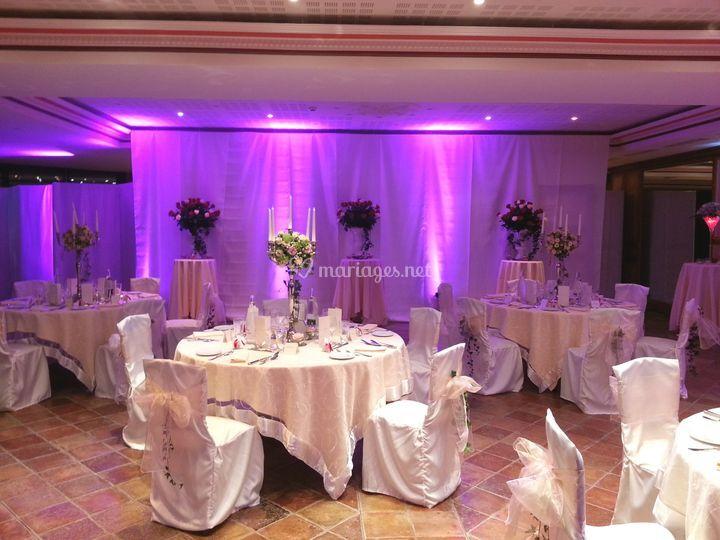 Création décor & tables