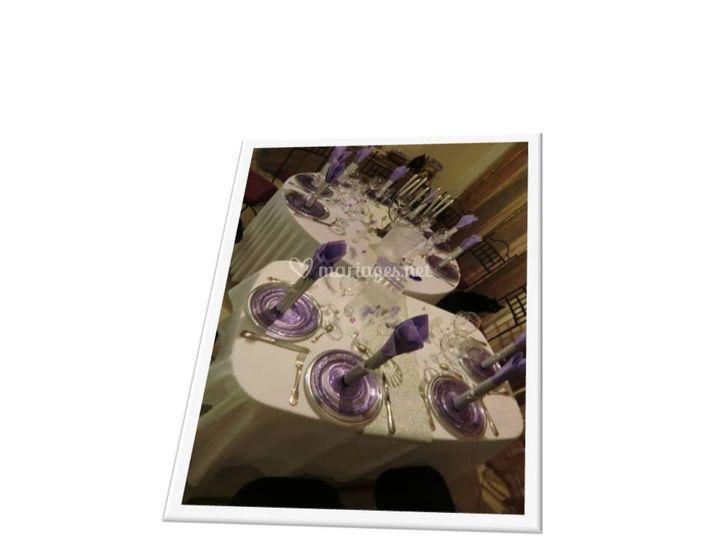 Déco table pour soirée privée
