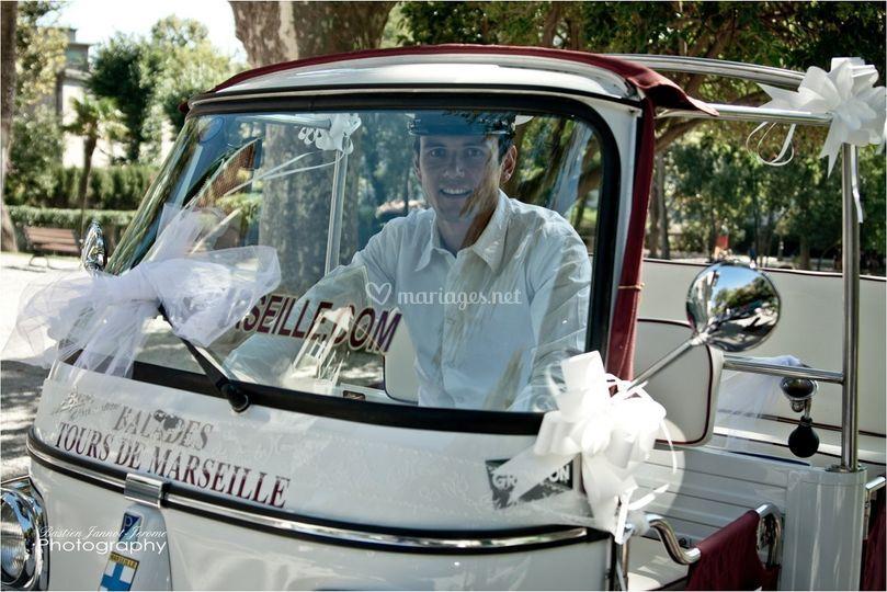 Notre chauffeur est à votre entière disposition