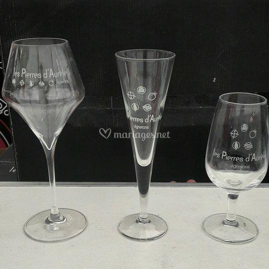 Exemple de travail sur verre