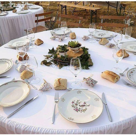 Demain, ce sera votre table de mariage