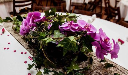 Vert tige à fleur de pot 1