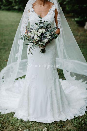 Bouquet de mariée chloée