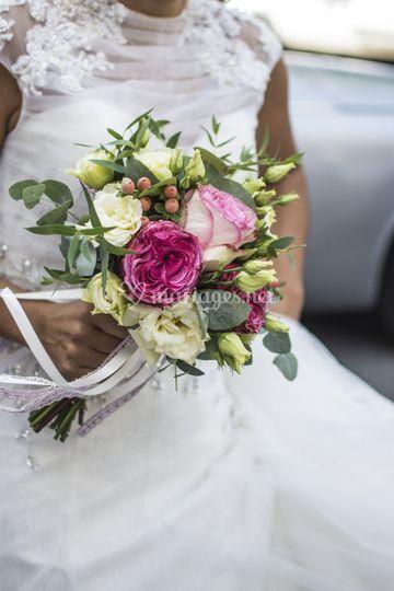 Bouquet de mariée Christelle