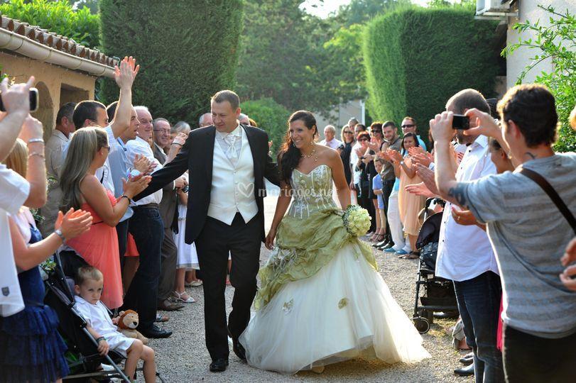 Haie honneur des mariés