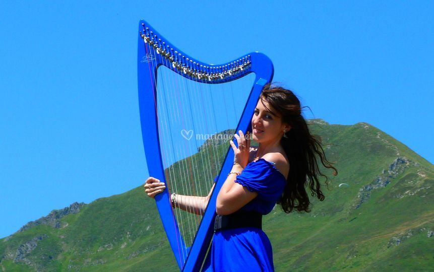 Marion Le Solliec - Celtic et Electric Harp