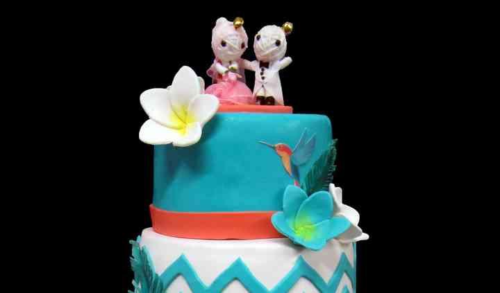 Wedding cake îles