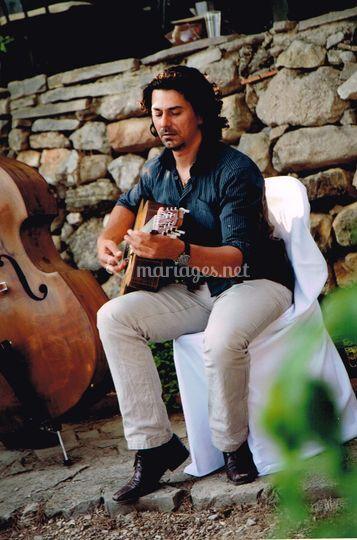 François Baudemont guitare