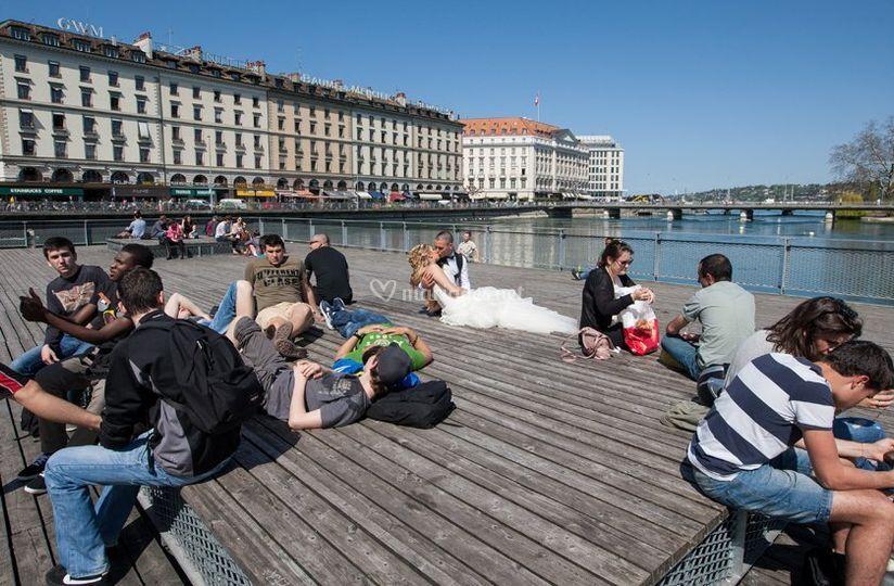 Mariage à Genève (Suisse)