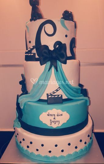 Wedding cake theme tim burton