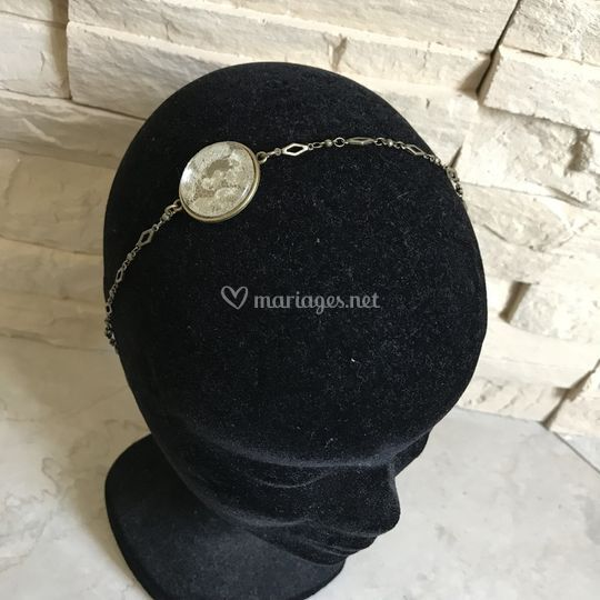 Headband dentelle ancienne