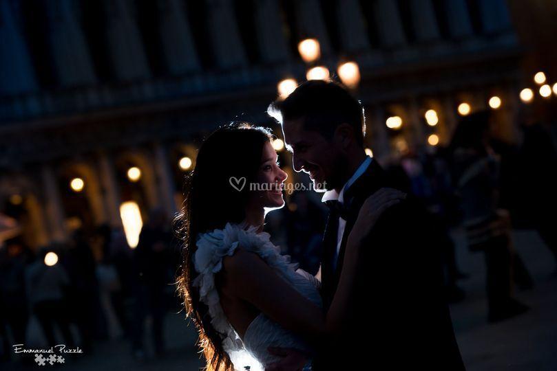 Couple à Venise