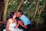 Emilie et Cyrille, baiser