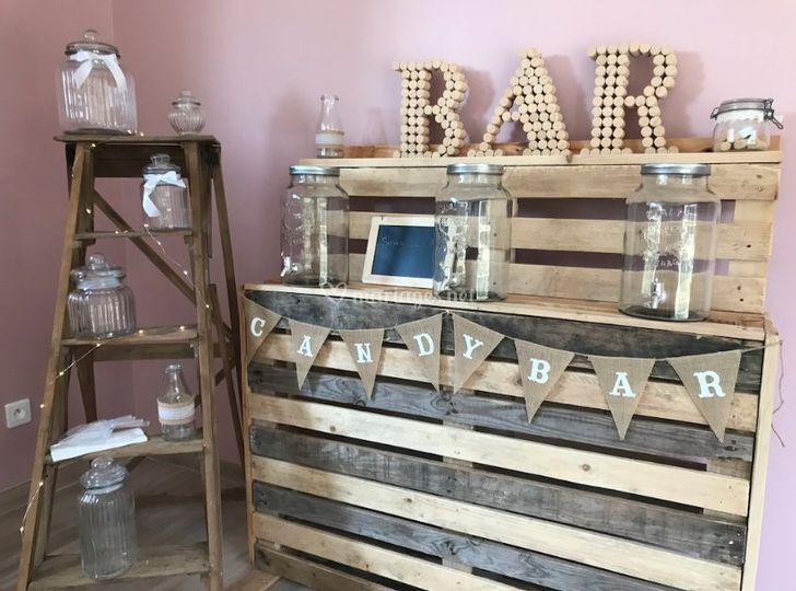 Candy Bar / Bar à jus