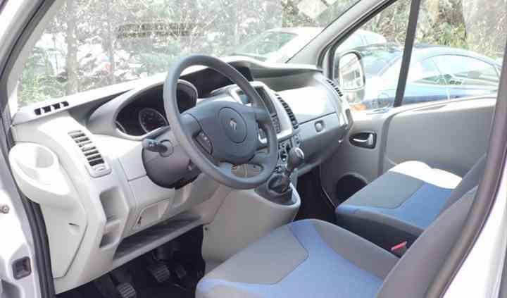 Intérieur chauffeur