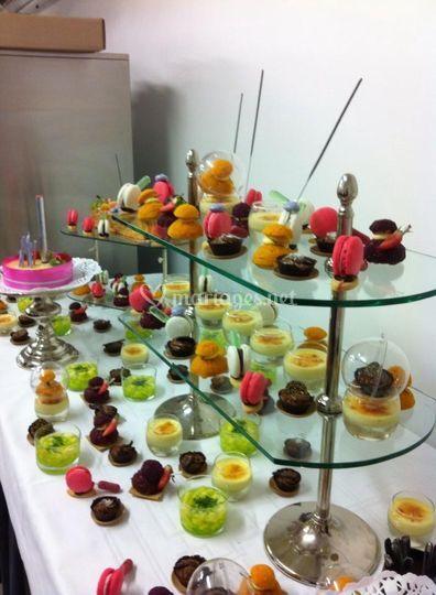 buffet de desserts de les jardins de l 39 arcadie photo 10. Black Bedroom Furniture Sets. Home Design Ideas