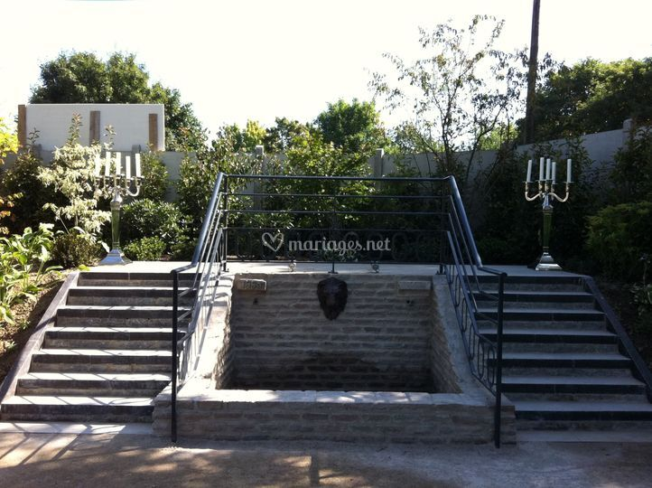la fontaine de les jardins de l 39 arcadie photo 14. Black Bedroom Furniture Sets. Home Design Ideas