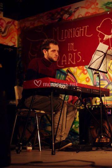 Romain, piano et clavier