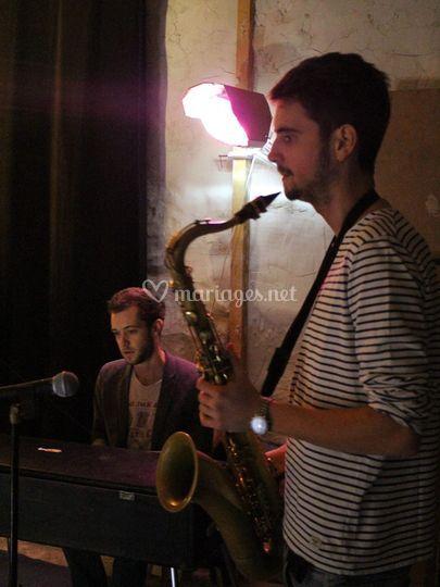 Clément, saxophone ténor