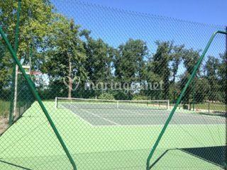 Chateau de Nolet, terrain de tennis