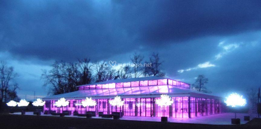 L'Orangerie en soirée