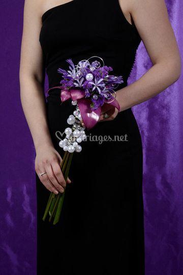 Bouquet violet