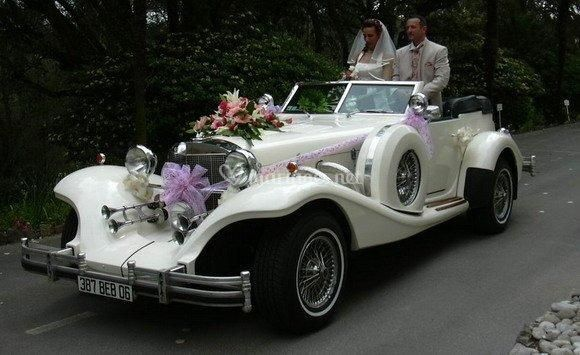 excalibur de location voiture mariage photos. Black Bedroom Furniture Sets. Home Design Ideas